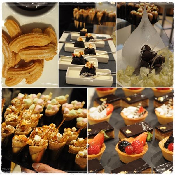 Dessert at Lafayette Gourmet Dubai