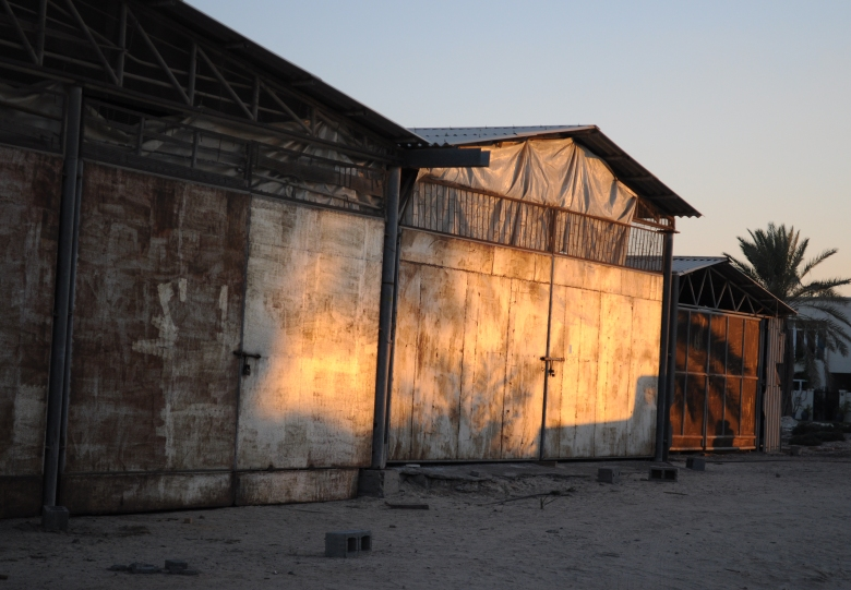 Dhow sheds