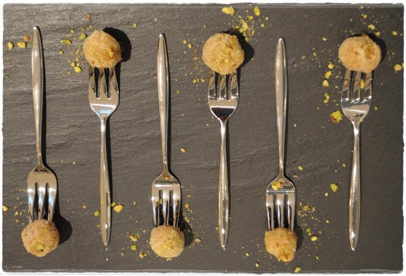 Foie Gras bon bons at Lafayette Gourmet Dubai