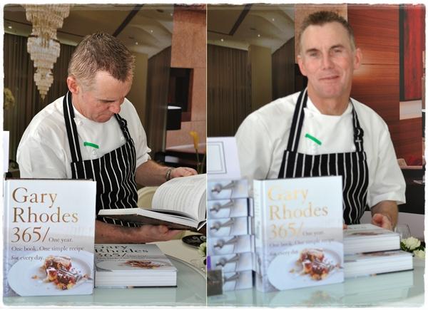 Gary Rhodes Taste of Dubai 2012
