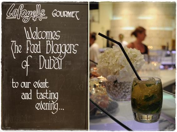 Lafayette Gourmet Dubai welcome