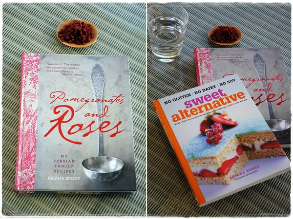 Pomegranates and roses book