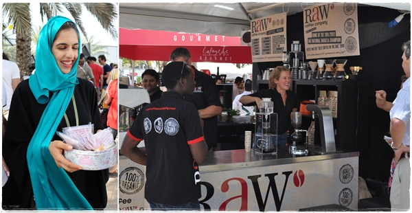 Raw and Spontaneous Euphoria Taste of Dubai 2012