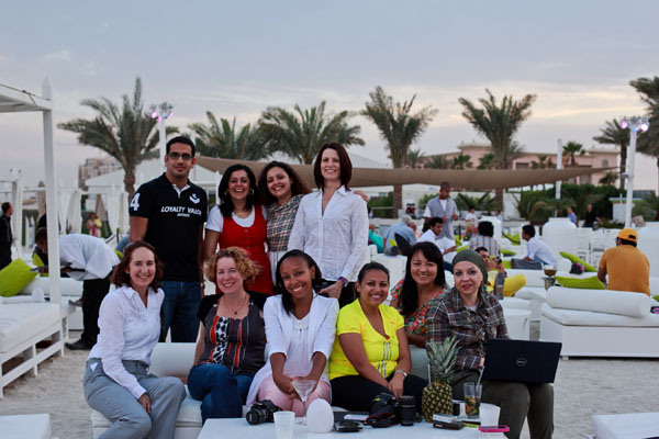 Some of the workshop group at Nasimi