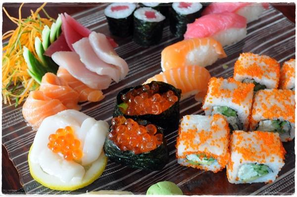 Sushi at Nasimi