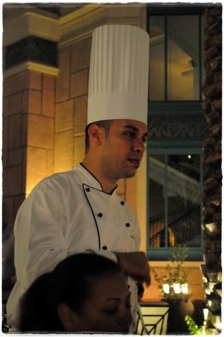 Chef Ali at Levantine, Atlantis The Palm