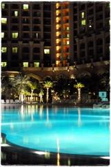 The pool at night - Atlantis