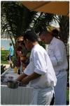 Cookery demo at Nasimi Atlantis