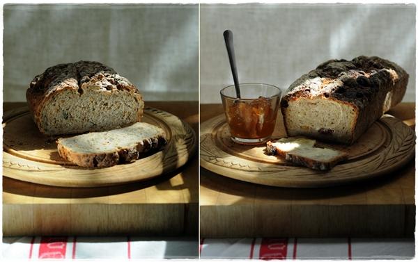 Multigrain loaf and fruit loaf