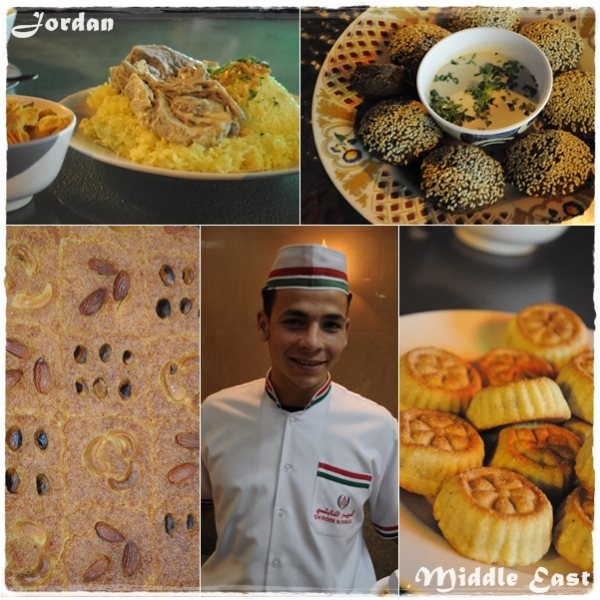 Jordan - Middle East food tour Dubai