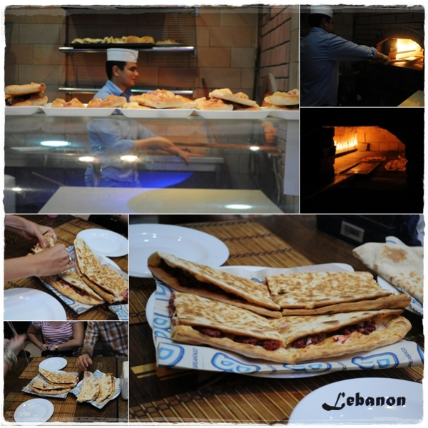 Lebanon - Middle East food tour Dubai