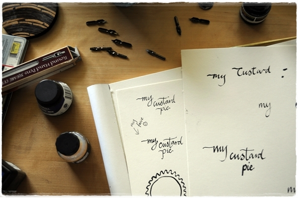 Ink, pens and nibs