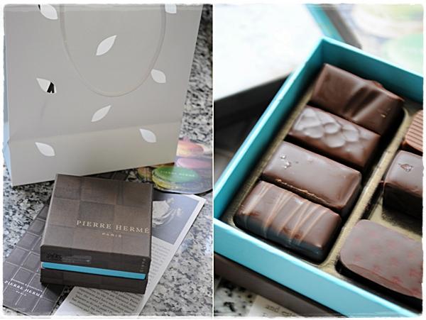 Pierre Herme chocolates