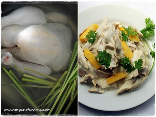 Coronation chicken Thai-style