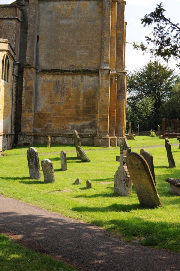 Church yard in Blockley