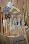 Food stylist tools - My Custard Pie