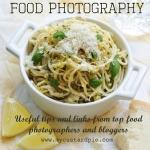 Food photography tips and links - www.mycustardpie.com