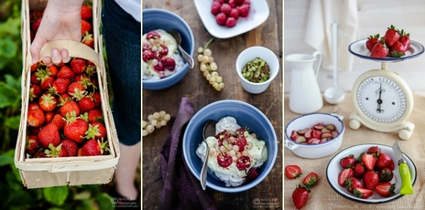 A selection of food photos by Meeta Wolff