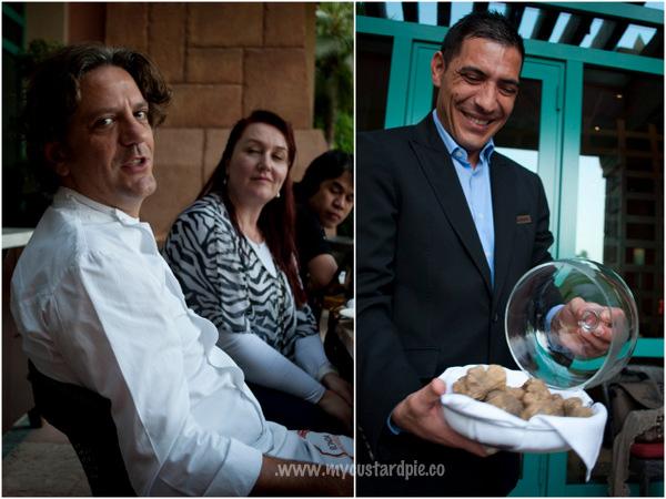 Giorgio Locatelli white truffles