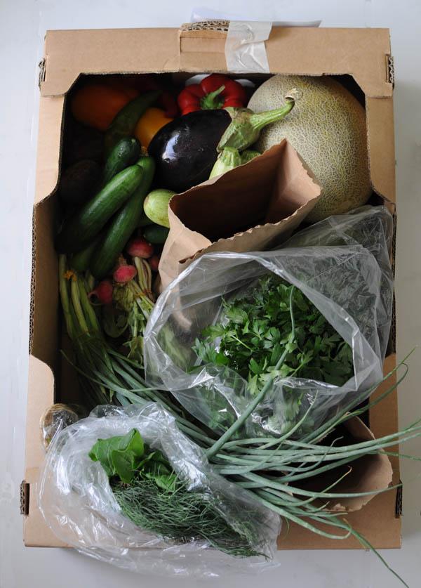 Greenheart veg box