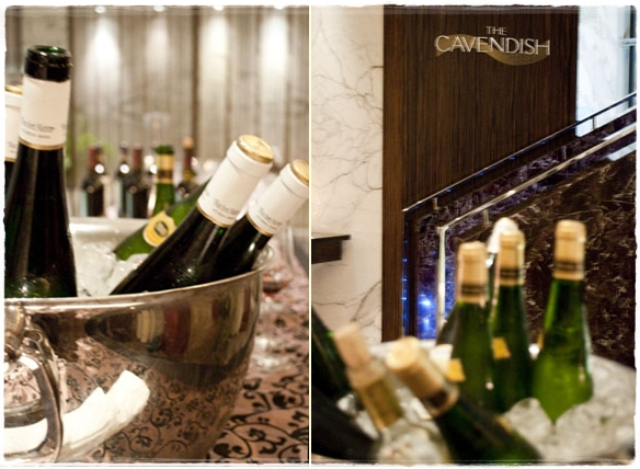 Wine dinner at The Cavendish