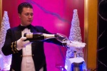 Pouring Champagne at the Burj alArab