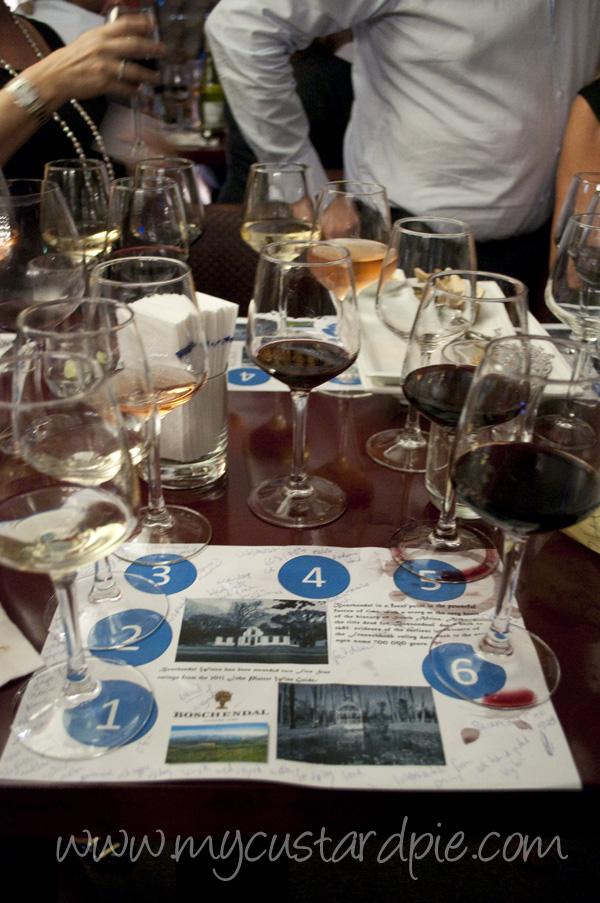 Boschendal wine tasting