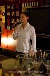 Lizelle from Boschendal wine tasting