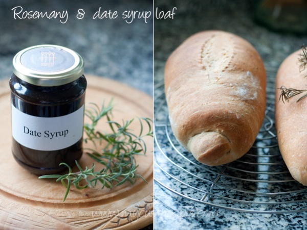 Rosemary and date syrup loaf