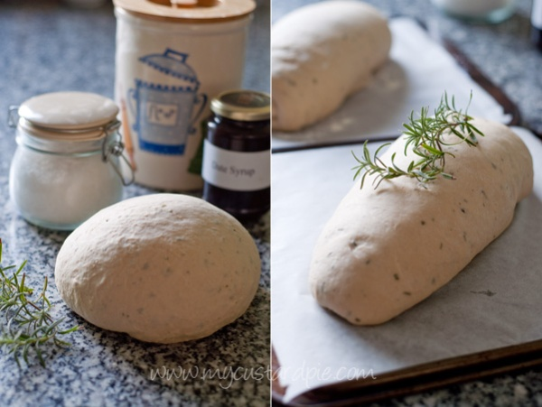 Rosemary and date syrup bread