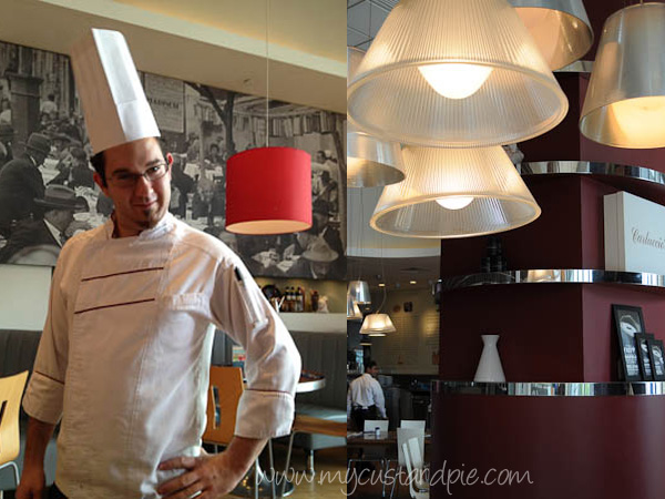 Chef Alessandro at Carluccio's Dubai