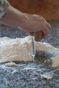 Making soda bread