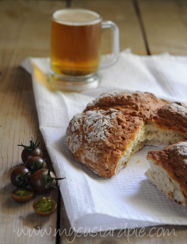 white soda bread My Custard Pie