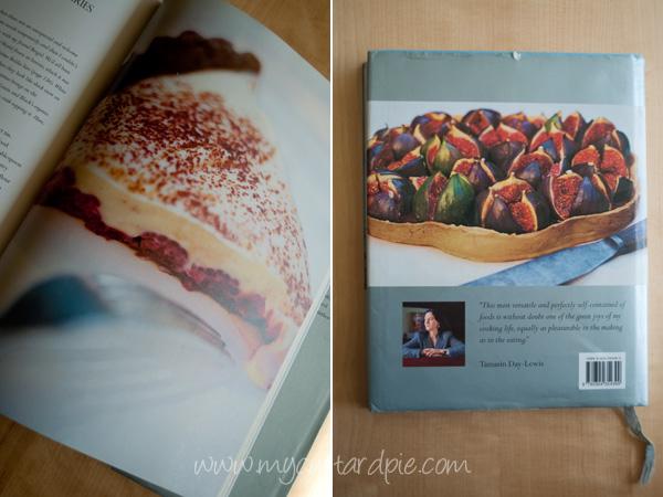 rasperry and white chocolate tart