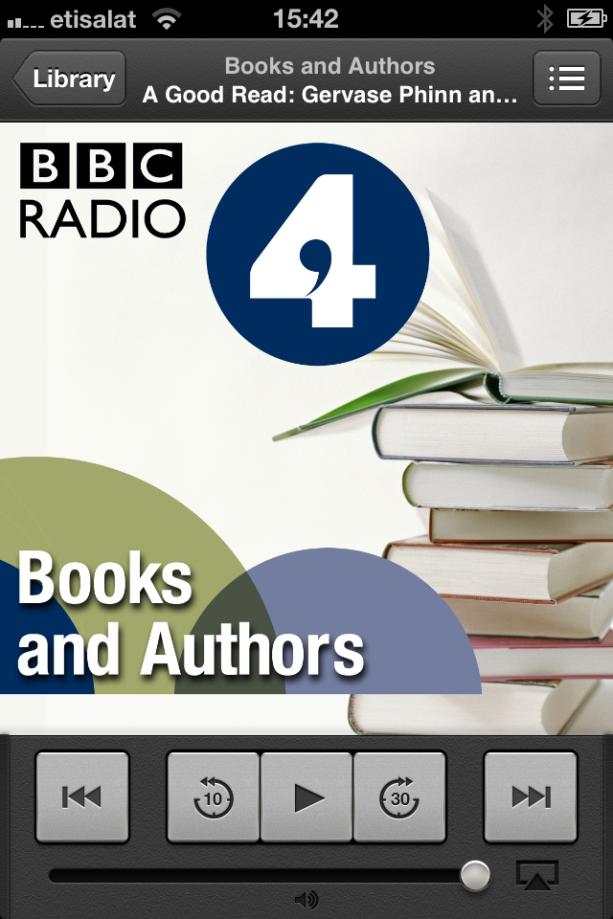 Books and Authors BBC Radio 4