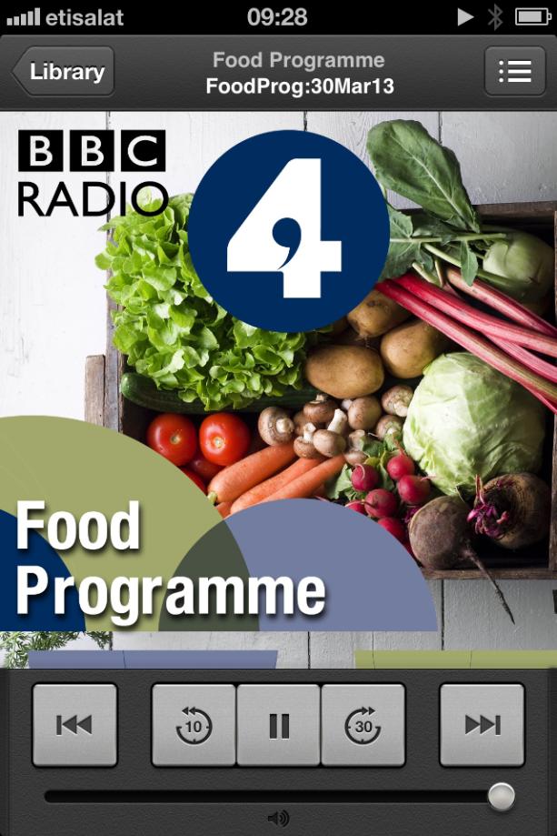 Food Programme BBC Radio4