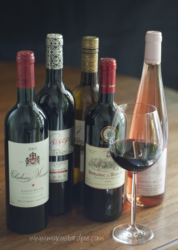 Middle Eastern wine