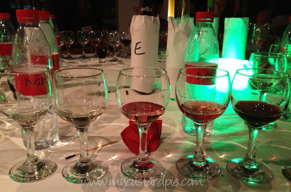 Blind tasting at Dubai Wine Club