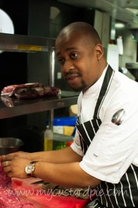 Global executive chef Mike Reid