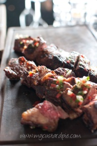 Gaucho - steak with chimichurri