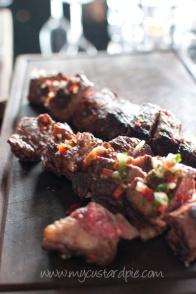 Gaucho - steak with chimichurri