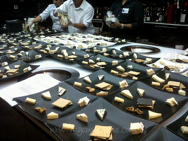 Cheese at the cheese club launch