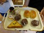 Cake shop breakfast