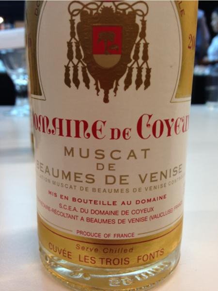 Muscat de Beaumes de Venise