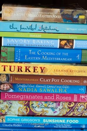 Middle Eastern cook books