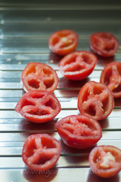 seeded tomatoes
