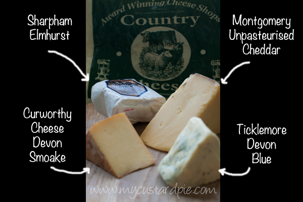 West Country cheeses