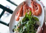 Prawns and salad at Jamie Oliver Fifteen My CustardPie-0103