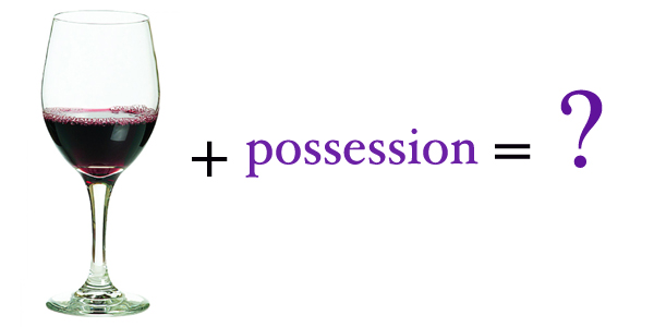 wine challenge possession
