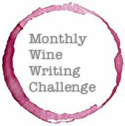 Wine writing challenge badge